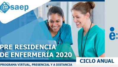 PRE RESIDENTADO DE ENFERMERÍA 2020: MÓDULO III