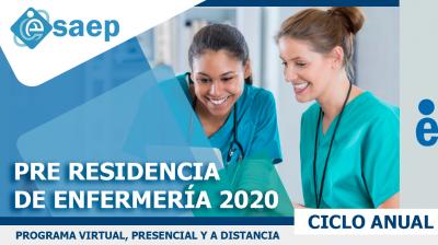 PRE RESIDENCIA DE ENFERMERÍA 2020: MÓDULO VI