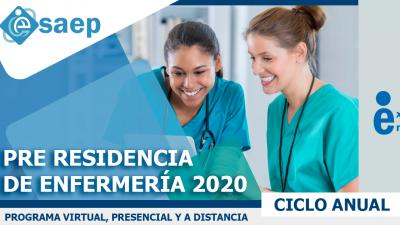 PRE RESIDENTADO DE ENFERMERÍA 2020 MÓDULO V.