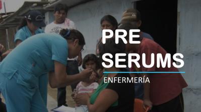 PRE SERUMS ENFERMERÍA 2019