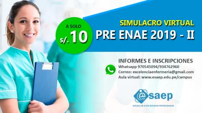 SIMULACROS ENAE 2019-II